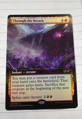 Magic the gathering - Through the breach - Ultimate Masters - BOX TOPPER