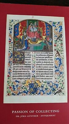 Passion Of Collecting  Dr. Jorn Gunther - Illuminated Manuscripts & Books. No.11
