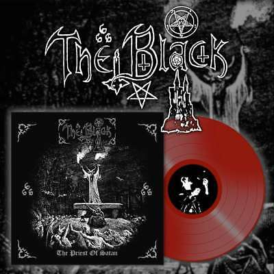 THE BLACK - The Priest of Satan  LP  RED