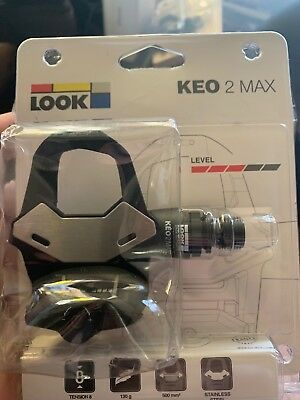 Look Keo Max 2 Cycle Pedals New Sealed Level 3 With Cleats