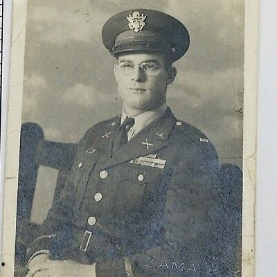 Vintage Photograph 1940s US Army Solder World War 2