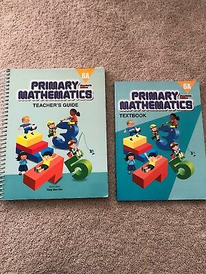 Singapore Primary mathematics Standards 6a Teacher's Guide Textbook