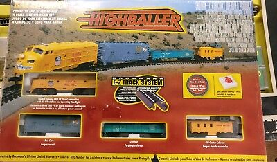 "Bachmann N Scale Union Pacific Train Set ""Highballer"" #24002"