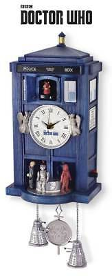 Official Doctor Who 'Tardis' Sculpted Cuckoo Clock - Bradford Exchange