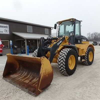 2015 John Deere 344K  Wheel Loader NICE SHAPE Very Clean!!