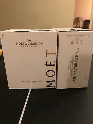OFF WHITE - Moet & Chandon Nectar Imperial Rose By Virgil Abloh BOX ONLY RARE