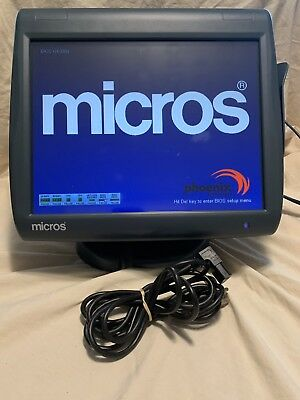 Micros Workstation 5A POS system unit WS5A, P/N:400814-101, #20