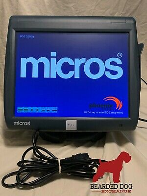 Micros Workstation 5A POS system unit WS5A, P/N:400814-101, #22