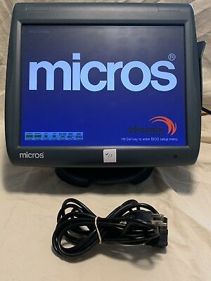 Micros Workstation 5A POS system unit WS5A, P/N:400814-101, #17