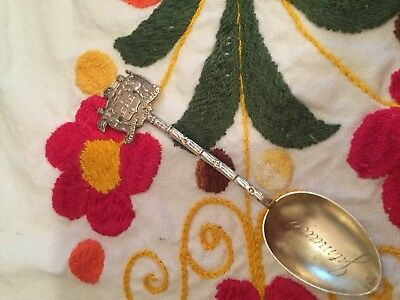 Vintage Jamaica Sterling Silver Souvenir Spoon - Detailed!!!
