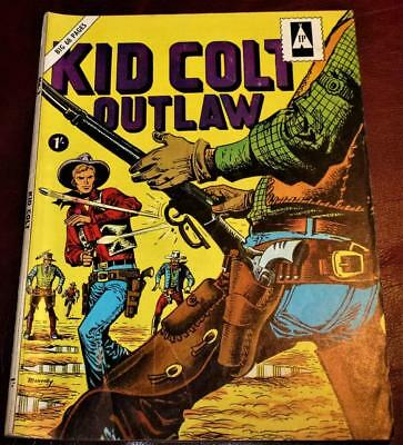 No.2  Kid Colt outlaw 68 pages good condition see pics