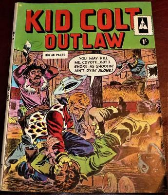 No.6  Kid Colt outlaw 68 pages good condition see pics