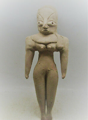 Circa 2800-2000Bce Ancient Indus Valley Harappan Terracotta Statuette