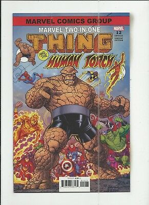 Marvel Two-In-One #12 (#112) Nick Bradshaw Variant Cover (VF+) condition