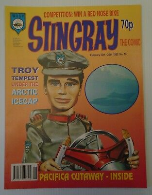 STINGRAY The comic no 10 1993   W A S P.