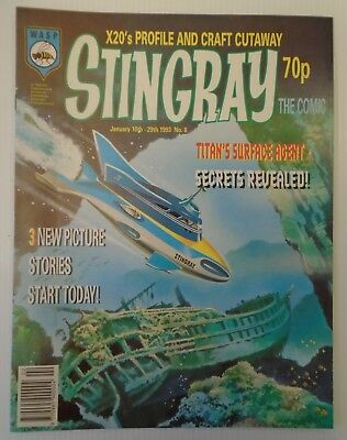 STINGRAY The comic no 8 1993   W A S P.