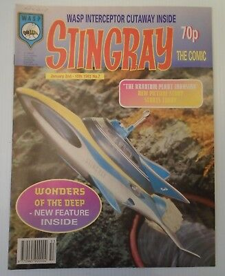 STINGRAY The comic no 7 1993   W A S P.