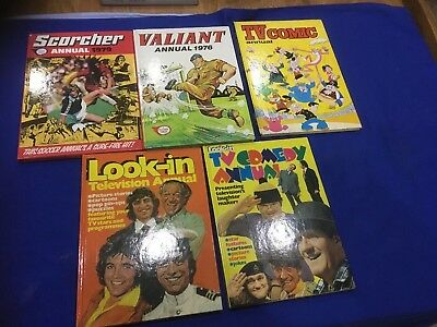 Vintage Retro 1970s annuals Job Lot See Photos