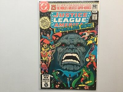 DC 1980 Justice League Of America 184 185 Darkseid New Gods Apokolips Now