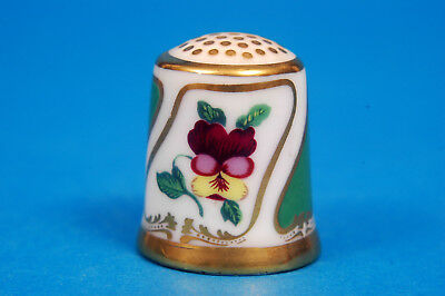 Royal Crown Derby 'The Moses Webster' China Thimble B/77