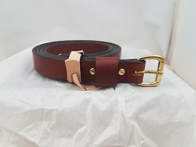 1 inch wide Leather Belt
