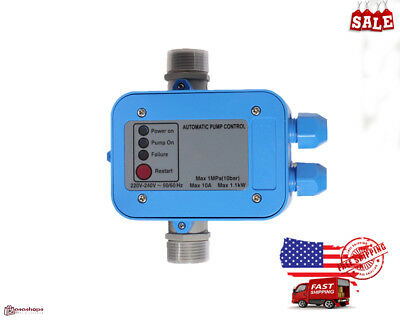 Automatic Water Pump Pressure Controller Electric Electronic Switch freeshipping