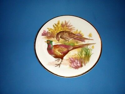 Harry Hancock (Tunstall) Ltd Rydalia Ware - Collectors Small Plate. Pheasant