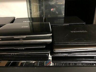 Mixed Lot Of 50 Working Laptops Dell Hp Toshiba Gateway Asus