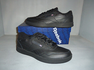Men's Reebok Club MEMT X-WIDE 4E Black NIB New!! Style V68166 Walking Training