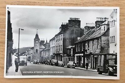 Two Postcards and One Lettercard, Newton Stewart, Wigtownshire, Scotland