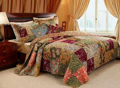 Pillow Pair Antique Chic Decorative French Country Cottage Floral Bedding