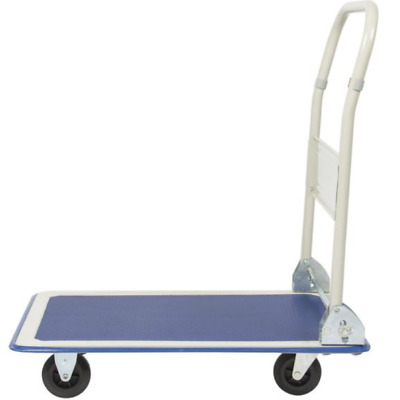 330lbs Platform Cart Folding Dolly Foldable Warehouse Moving Push Hand Truck NEW