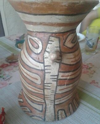 Great pot with a pattern Trypillian culture 3200-3100 BC (restoration)
