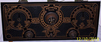 Vintage 1920's Showers Model 20 Six Tube Radio Chassis Only - Gorgeous!
