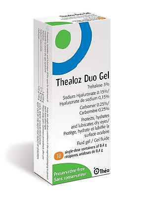 Thea Thealoz Duo Gel Single Dose Vials, Pack of 30