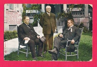 President William Taft with Judge H.H. Lurton and Secretary of War Dickinson