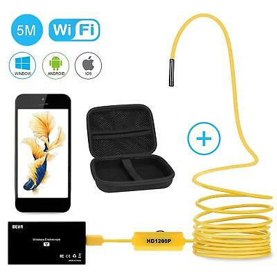 Wireless Endoscope, Upgraded 2 in 1 Borescope Inspection Camera 2.0 Megapixels 1