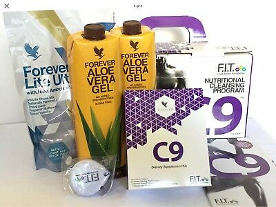 Forever Living Clean 9 C9 VANILLA Aloe Cleanse