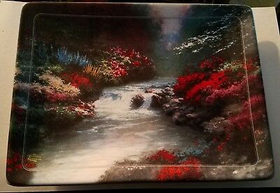 Thomas Kinkade Beside Still Waters Natures Retreats Collector Plate 1999