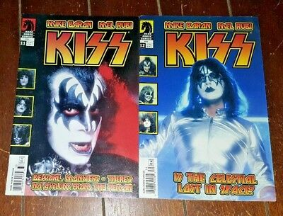 KISS, #11 & #12 (2003, Dark Horse) Free Shipping!