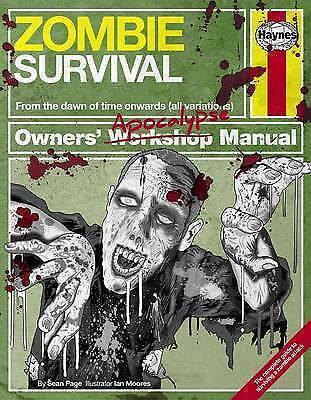 Brand New Haynes Zombie Survival Manual H5473 Excellent Book