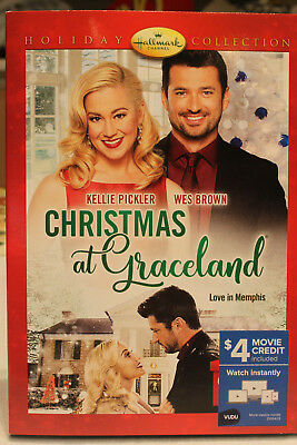 CHRISTMAS AT GRACELAND DVD Hallmark Christmas Holiday Family Movie New Sealed
