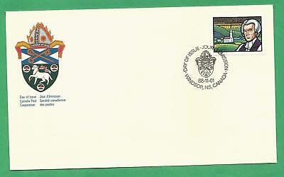 1988 Charles Inglis, Anglican Church Canada First Day Cover