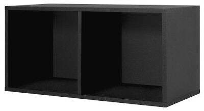 Foremost 327806 Modular Large Divided Storage System, Black