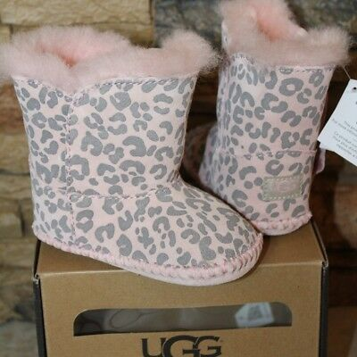 14201cd0324 BABY UGG BOOTS Cassie Leopard size 2/3 (6-12) - $40.00 | PicClick