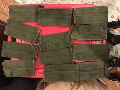 Lot of Military Pouches, First Aid, EMT,  Pouch Trauma Kit