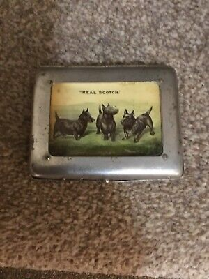 Buchanans Red Seal Black And White Whisky Advertising Cigarette Case