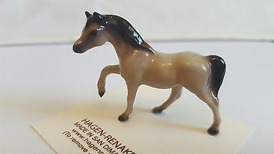 Hagen Renaker Horse Small Gray Mare Figurine Miniature New Free Shipping 00452