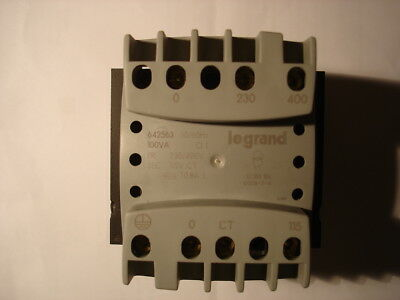 Legrand Transformer 100 VA panel mounting. PRI  230/400volt to SEC 115volt CT