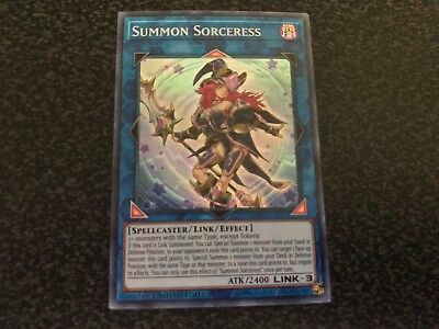 Summon Sorceress Super Rare SOFU-ENSE2 Near-Mint Limited Edition